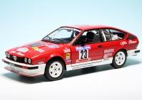 """Alfa Romeo GTV6 Team Gema Racing """"Rallye Tour de Corse 1985"""""""