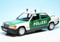 "Mercedes Benz 190E Limousine (W201) (1982) ""Polizei Baden-Württemberg"""