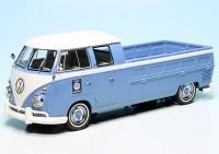 VW T1 Bulli Doppelkabine Langpritsche (1963) (Deutschland/USA)