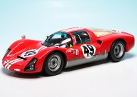 "Porsche 906K Rennwagen Team Charles Vögele ""12H Sebring 1966"""