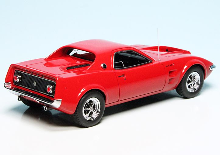 wonderful modelcar FORD MACH 2 CONCEPT USA 1967 red 1//43 ltd.ed.