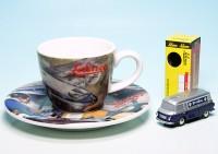 "Piccolo Barkas B 1000 Kastenwagen mit Espresso-Tasse ""Radiant / BV-Aral"""