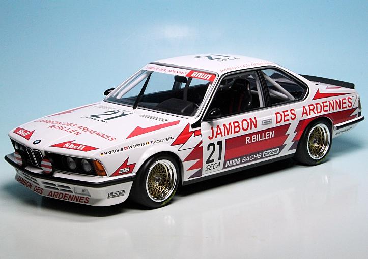 bmw 635 csi rennwagen team brun motorsport 24h spa 1985. Black Bedroom Furniture Sets. Home Design Ideas