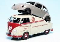 "VW T1a Bulli mit Brezelkäfer-Karosserie ""Volkswagen Midlands Centre"""