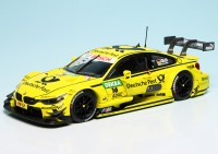 "BMW M4 DTM Rennwagen (F82) ""Deutsche Post"" Team MTEK ""DTM 2015"""