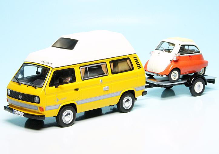 vw t3a westfalia campingbus joker mit pkw anh nger und. Black Bedroom Furniture Sets. Home Design Ideas