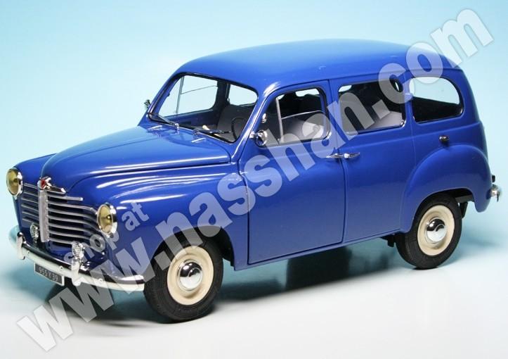 Renault Colorale Prairie blau 1953 1:43 Solido Modellauto