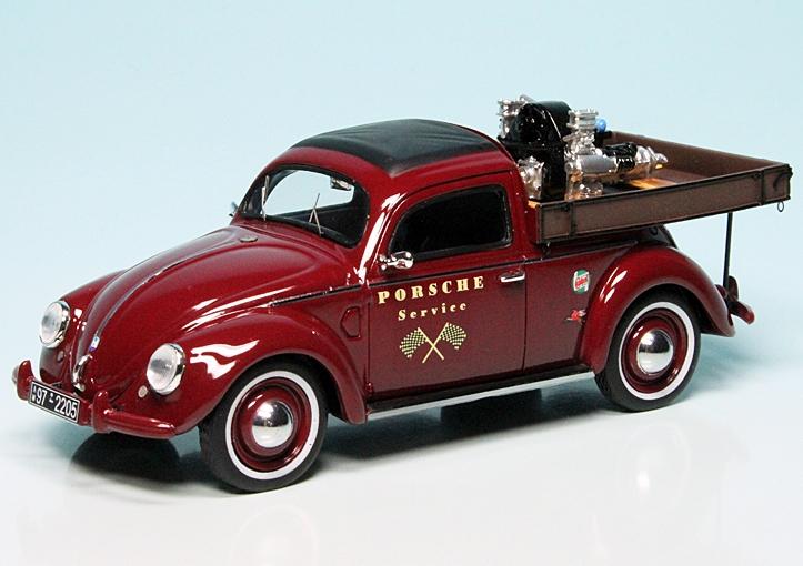 vw k fer beutler pritschenwagen mit carrera motor porsche. Black Bedroom Furniture Sets. Home Design Ideas