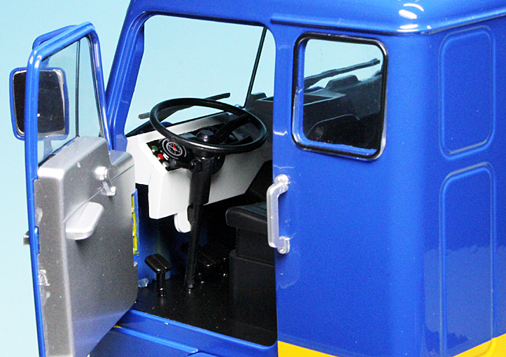 1:18 Road Kings Volvo F88 ASG Transport Spedition 1965 blue//yellow