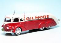 "White Streamline Tank Truck (1935) (USA) ""Gilmore"""