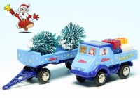 "Piccolo Mercedes Benz Unimog U 401 mit Anhänger ""Schuco Christmas Special 2020"""