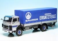"""Saurer D250 B Pritsche/Plane (1982) (Schweiz) """"Saurer Ersatzteile"""""""