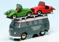 "Piccolo VW T1 Bulli Bus with two Kleinschnittger F125 ""Kleinschnittger Werke"""