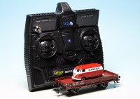 "VW T1 Bulli Kastenwagen ""Märklin"" - ferngesteuert mit 2.4 GHz Technologie-Copy"