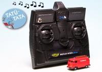 """VW T1 Bulli Kastenwagen """"Feuerwehr"""" - ferngesteuert mit 2.4 GHz Technologie"""