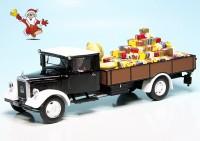 """Mercedes Benz Lo2750 Pritschenwagen """"Schuco Christmas Special 2018"""""""