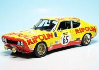 "Ford Capri I RS 2600 Rennwagen ""Ripolin"" Team Ford Deutschland ""Tour de France 1972"""