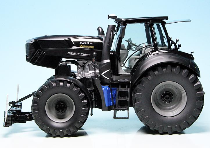 Scale 1:32 Model Car Black Tractor Schuco 450777600 Deutz-Fahr ...
