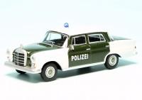 "Mercedes Benz 200D Heckflosse Limousine (W110) (1961) ""Polizei"""