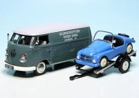 """VW T1 Bulli Kastenwagen mit PKW-Anhänger und Kleinschnittger F125 """"Kleinschnittger-Werke"""""""