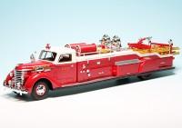 "Diamond T City Ladder Truck (1941) (USA) ""Hamden Fire Department - Feuerwehr"""