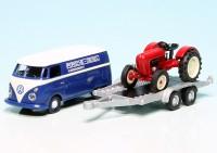 """VW T1 Bulli Kastenwagen mit Porsche Diesel Junior K Traktor """"Porsche-Diesel Kundendienst"""""""